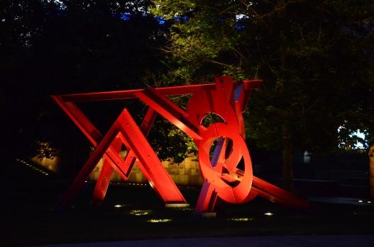 Sculpture in the Citypark, St. Louis.